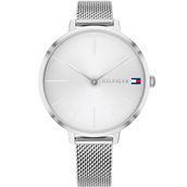 Tommy Hilfiger Project Z dameur stål meshlænke 38mm mineralglas 3bar