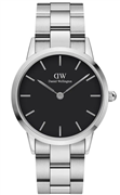 Daniel Wellington Iconic Link 36mm Sølvfarvet Black