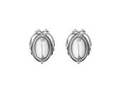 Georg Jensen øreclips Heritage Collection 2017 sølv oxyd.*