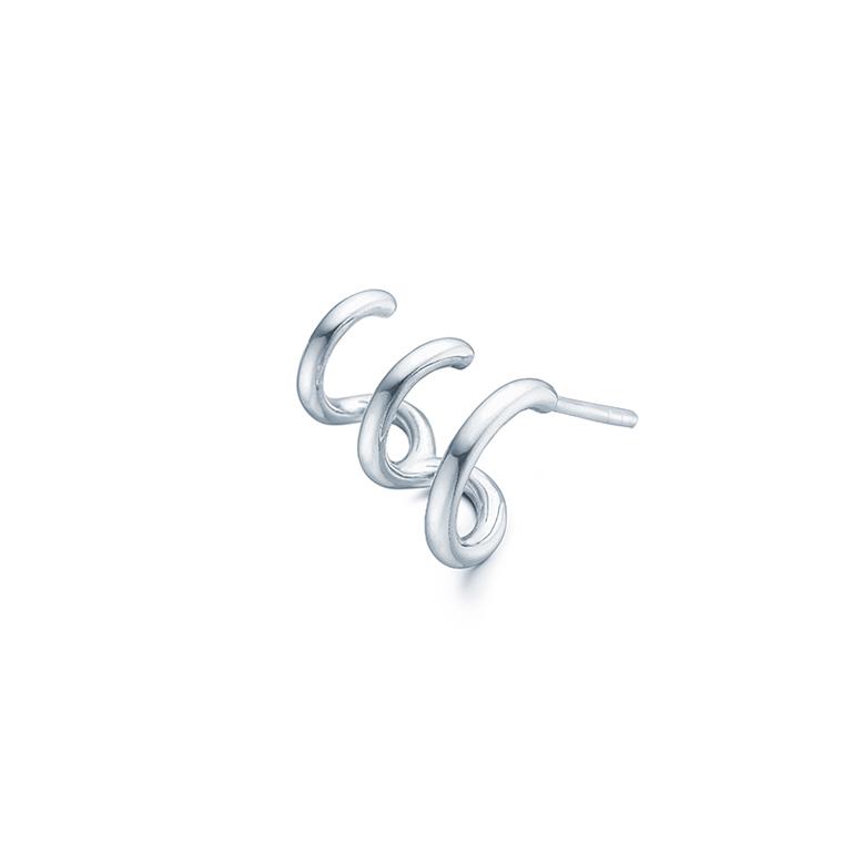 d5afcb11c75 ID Fine Jewelry Dash Triple ørering venstre, sølv