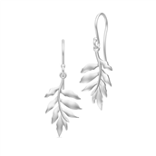 Julie Sandlau øreringe Little tree of life sølv rhod