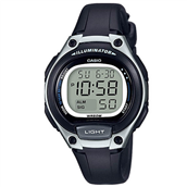 CASIO CLASSIC - BASIC (5479) Unisex digital ur sort plastik rem