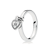 PANDORA Love Lock ring str. 52