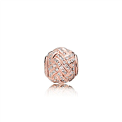 Pandora ESSENCE COLLECTION AFFECTION charm rose syntetiske zirkonia