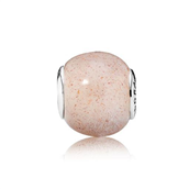 Pandora ESSENCE COLLECTION LOVE charm sølv rosa pink månesten