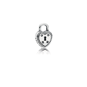PANDORA Love Lock Petite sølv petite element 796569